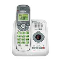 VTech CS6124 DECT 6.0 Digital Cordless Answering System with 1 Handset