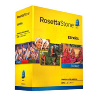 Rosetta Stone Rosetta Stone V4 TOTALe: Spanish (Latin America) Level 1-5 Set (PC / MAC)