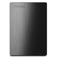 Toshiba Canvio Slim II 1TB Superspeed USB 3.0 Portable External Hard Drive - Black