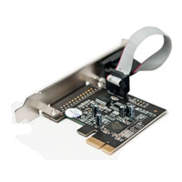 Vantec UGT-PCE10SR 1-Port Serial (RS-232) PCIe Host Card