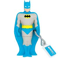 Emtec International SH100 Super Heroes 4GB USB 2.0 Flash Drive - Batman