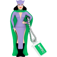 Emtec International SH100 Super Heroes 4GB USB 2.0 Flash Drive - Catwoman
