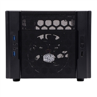 Cooler Master Elite 130 mini-ITX Computer Case - Black