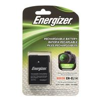 Energizer ENB-NEL14 Li-Ion Rechargeable Replacement Camera Battery for Nikon EN-EL14