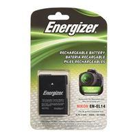 Energizer ENB-NEL14 Li-Ion Rechargeable Replacement Camera Battery for Nikon EN-EL14