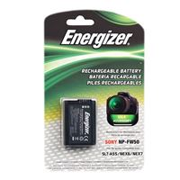 Bower Energizer ENB-SFW50 Digital Replacement Battery for Sony A3000, A5000, A33, A35, A37, A55, A390, NEX-3, NEX-5, NEX-6 and NEX-7 Digital Cameras