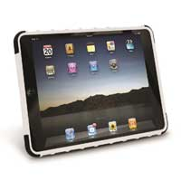 iEssentials Rugged Stand Cover for iPad Mini - White