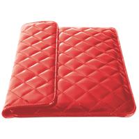 Travelocity 7-8'' Universal Quilted Case - Red