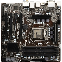ASRock Z77 Pro4-M LGA 1155 ATX Intel Motherboard - Refurbished