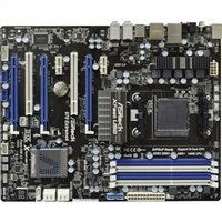 ASRock 970 Extreme4 Socket AM3+ 970 ATX AMD Motherboard - Refurbished