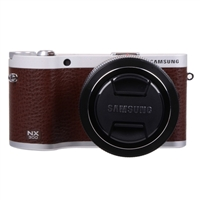 Samsung NX300 20.3 Megapixel Smart Compact Digital Camera - Brown