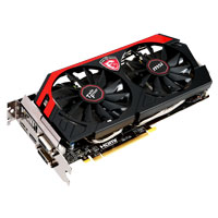 MSI N780 TF 3GD5/OC NVIDIA GeForce GTX 780 Twin Frozr 3072MB GDDR5 PCIe 3.0 x16 Video Card