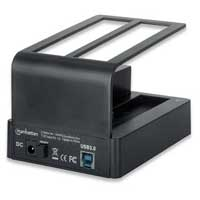 Manhattan QuickDock Duo Superspeed USB 3.0 to Dual SATA Dock