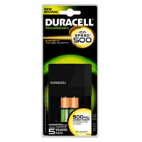 Duracell 14 Hour 2 Position AA/AAA NIMH Battery Charger Includes 2 x AA NIMH 2400mAh Batteries