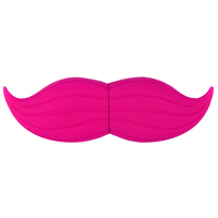 Emtec International 4GB Pink Stache USB 2.0 Flash Drive