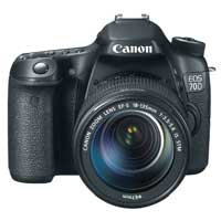 Canon EOS 70D 20.2 Megapixel DSLR Camera EF-S18-135mm F3.5-5.6 IS STM Kit
