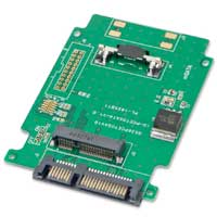 "Syba 2.5"" SATA to mSATA Adapter"