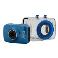 Vivitar DVR 785HD Pro Action HD Camcorder - Blue
