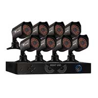 Night Owl PRO-1681TB 16 Channel Digital Video Recorder (DVR) with CM-624A 8 x Security Cameras with Up to 50ft Night Vision