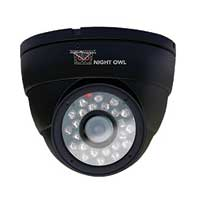 Night Owl 6mm 600 TV Line Indoor Dome Security Camera with 50ft of Night Vision