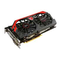 MSI N770 TF 4GD5/OC NVIDIA GeForce GTX 770 Twin Frozr OC 4096MB GDDR5 PCIe 3.0 x16 Video Card