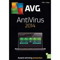 AVG 2014 Anti-Virus 1 User 1 Year (PC)