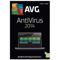 AVG 2014 Anti-virus 3-User, 1-Year (PC)