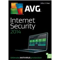 AVG 2014 Internet Security 1 Year 3 User (PC)