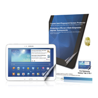 Green Onions Supply Crystal Anti-fingerprint Screen Protector for Samsung Galaxy Tab 3 10.1