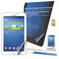 Green Onions Supply Crystal Anti-fingerprint Screen Protector for Samsung Galaxy Tab 3 7.0