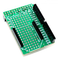 MCM Electronics Slice of Pi Prototyping Board for Raspberry Pi