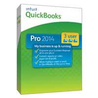 Intuit Quickbooks Pro 2014 3 User (PC)