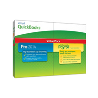 Intuit 2014 QuickBooks Pro with Enhanced Payroll (PC)