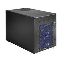 Lian Li PC-V354B Alumium mATX Mini Tower Computer Case - Black