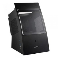 Lian Li PC-Q30X Aluminum mini-ITX Mini Tower Case - Black