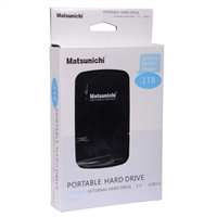 Matsunichi Inc. 1TB Portable SuperSpeed USB 3.0 External Hard Drive