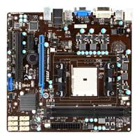 MSI FM2-A75MA-P33 Socket FM2 mATX AMD Motherboard
