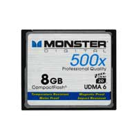 Monster Digital 64GB 500X CompactFlash High Speed Memory Card CFA-0064-605