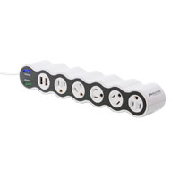 360 Electrical 5-Outlet PowerCurve Strip