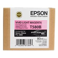 Epson T580B00 Light Magenta Ink Cartridge