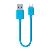 Belkin MIXIT Up Lightning ChargeSync Cable 6IN - Blue