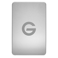 HGST G-Drive 1TB SuperSpeed USB 3.0 Portable Hard Drive - Silver (Mac)