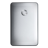 HGST G-Drive Slim 500GB SuperSpeed USB 3.0 Portable Hard Drive - Silver (Mac)