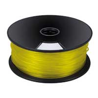 Velleman Yellow 3mm PLA Filament 1kg/2.2lbs
