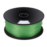 Velleman Green 3mm PLA Filament 1kg/2.2lbs