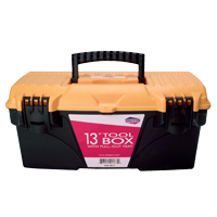 "Shaxon SHX-TB13 13"" Tool Box with Pullout Tray"