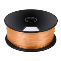 Velleman Orange 3mm PLA Filament 1kg/2.2lbs