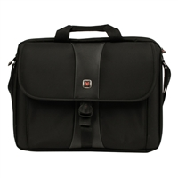 "Swiss Gear SIERRA Laptop Case Fits Screens up to 17"" - Black"