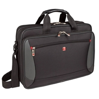 "Swiss Gear Mainframe Notebook Case Fits Screens up to 16"" - Black"