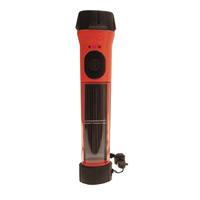 Shaxon Hybrid Solar Flashlight, SHX-HSFL40-HVOR 40 lumens Hi-Visibility - Orange